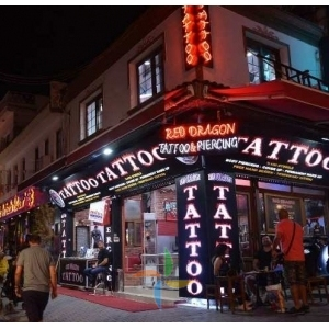RED DRAGON TATTOO PİERCİNG KUŞADASI